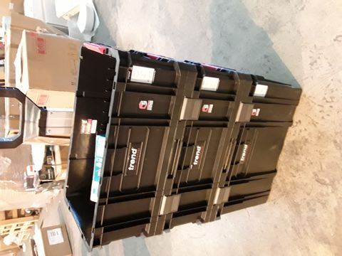 Lot 10536 TREND 3 TIER COMPACT STORAGE TROLLEY