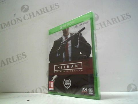Lot 3042 HITMAN: DEFINITIVE EDITION XBOX ONE GAME