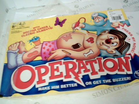 Lot 5027 CLASSIC OPERATION GAME FROM HASBRO RRP £28.00