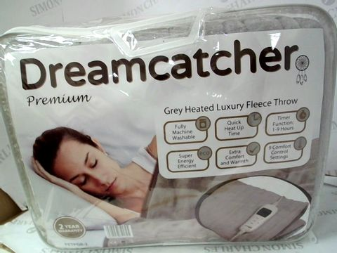 Lot 573 DREAMCATCHER PREMIUN LUXURY FLEECE THROW - HEATED