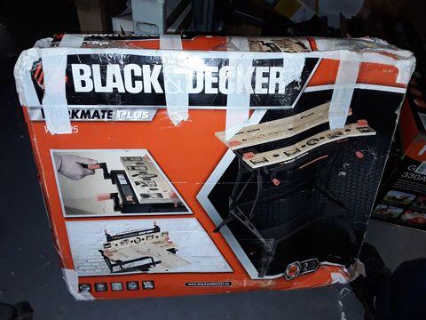 Lot 218 BLACK+DECKER WM825 WORKMATE PLUS