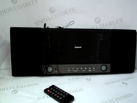 Lot 12375 POLAROID FLAT CD MICRO SYSTEM