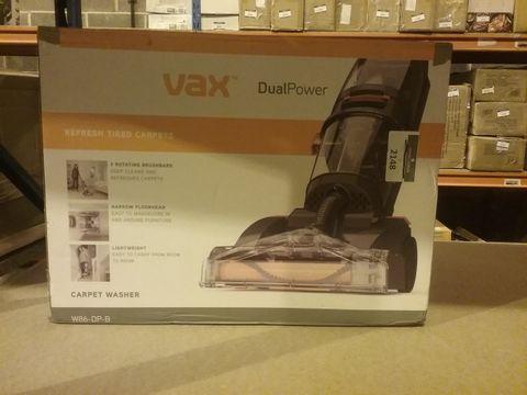 Lot 2148 VAX DUAL POWER CARPET CLEANER, 2.7 LITRE