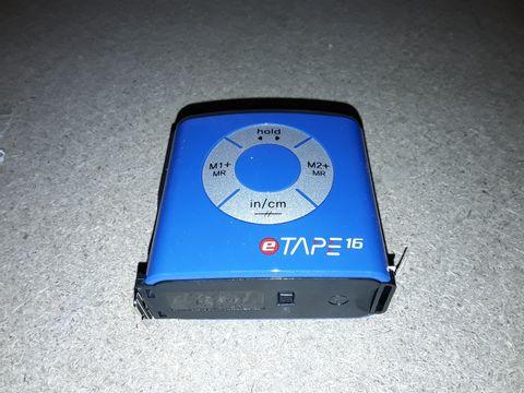 Lot 10086 ETAPE 16 ELECTRIC TAPE MEASURE