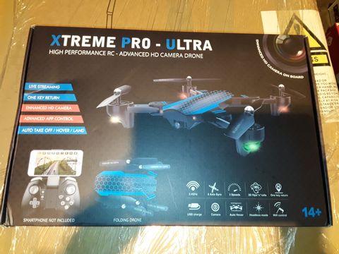 Lot 3334 XTREME PRO-ULTRA HIGH PERFORMANCE HD CAMERA DRONE