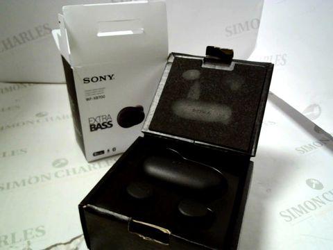 Lot 4080 SONY WF-XB700 TRUE WIRELESS HEADPHONES RRP £169.00