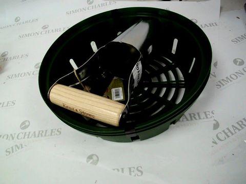 Lot 5250 Bulb Baskets 25cm and Bulb Planter RRP £18.99