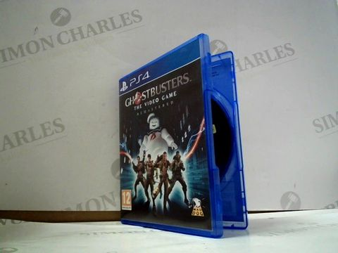 Lot 8031 GHOSTBUSTERS THE VIDEO GAME: REMASTERED PLAYSTATION 4 GAME