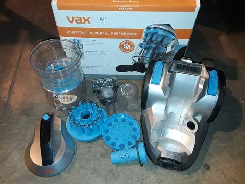 Lot 2460 VAX AIR PET MULTI-CYCLONIC BAGLESS VACUUM