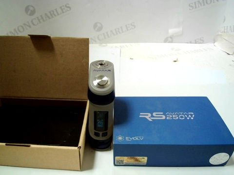 Lot 101 PINOSPAGNOLO RS AVATAR 250W WITH DNA CHIPSET TC MOD BOX FOR VAPING