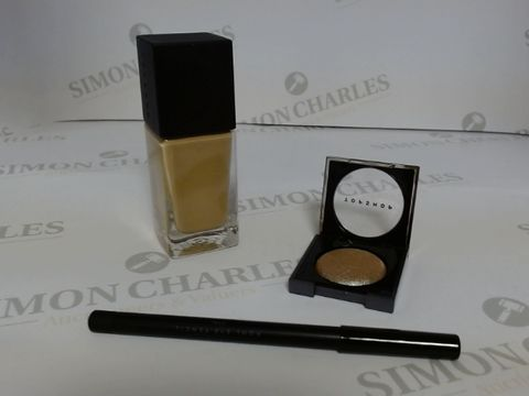 Lot 9472 BOX OF APPROXIMATELY 90 ASSORTED BRAND NEW MAKE UP ITEMS TO INCLUDE COAL EYE PENCIL, HAZEL FOUNDATION, EVOLVE EYESHADOW, ETC