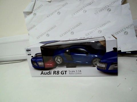 Lot 379 1:18 SCALE AUDI R8 GT 2.8GHZ REMOTE CONTROL
