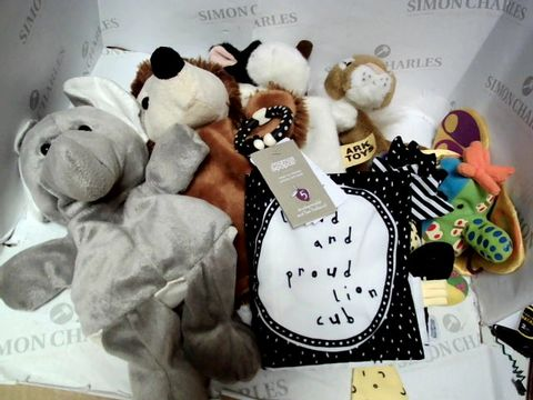 Lot 71 BABY SOFT TOY COLLECTION HAND PUPPETS TOUCH AND FEEL BOOK SENSORY TOY