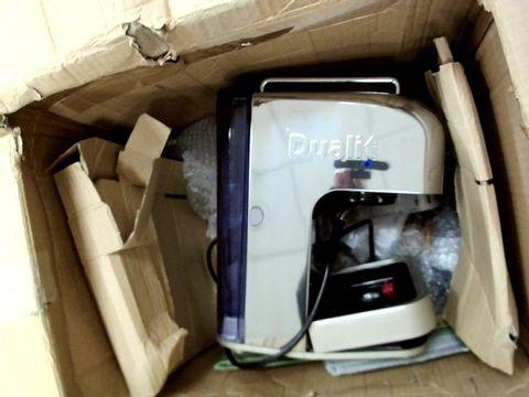 Lot 9207 DUALIT COFFEE MACHINE 15 BAR PRESSURE