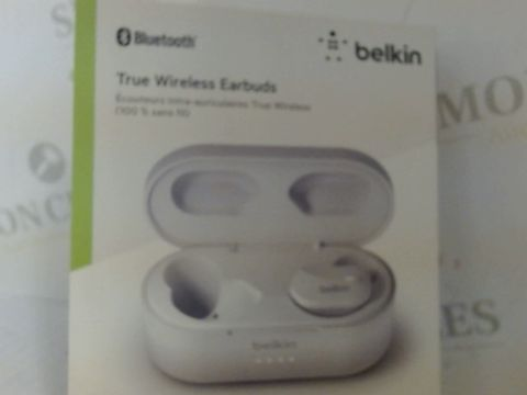 Lot 7515 BELKIN SOUNDFORM TRUE WIRELESS EARBUD HEADPHONES