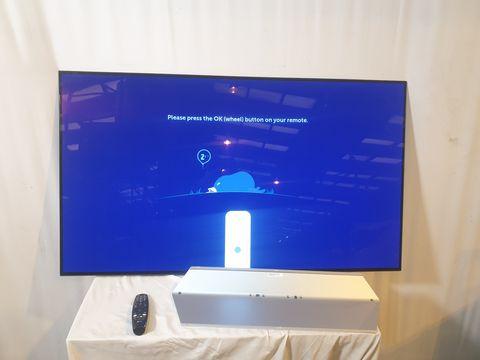 Lot 19 LG OLED55C7V 55 INCH OLED 4K HDR SMART TELEVISION