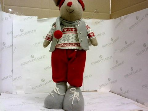 Lot 510 STANDING MOUSE ROOM DECORATION  RRP £22.99