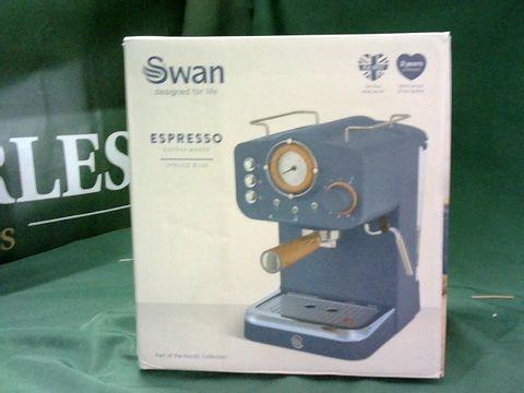 Lot 4078 SWAN ESPRESSO COFFEE MAKER