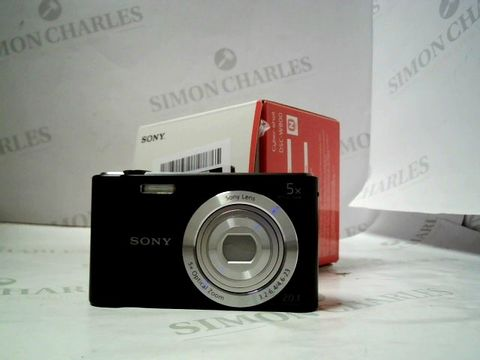Lot 4050 SONY DSC-W800 CYBER SHOT CAMERA.  RRP £159.00