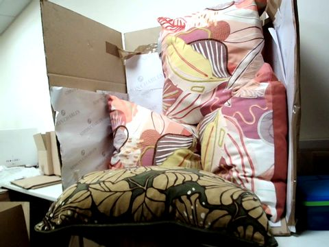Lot 10337 LOT OF 4 ASSORTED PILLOWS