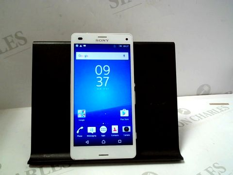 Lot 1109 SOMY XPERIA Z3 COMPACT 16GB ANDROID SMARTPHONE