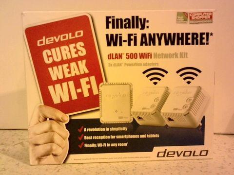 Lot 11691 DEVOLO DLAN 500 WI-FI POWERLINE NETWORK KIT