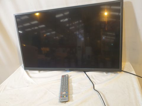 Lot 206 SHARP 1T-C32BC3KH2FB 32 INCH HD READY LED SMART TV