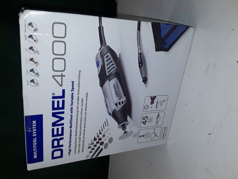 Lot 150 DREMEL 4000 HIGH PERFORMANCE MULTITOOL WITH VARIABLE SPEED