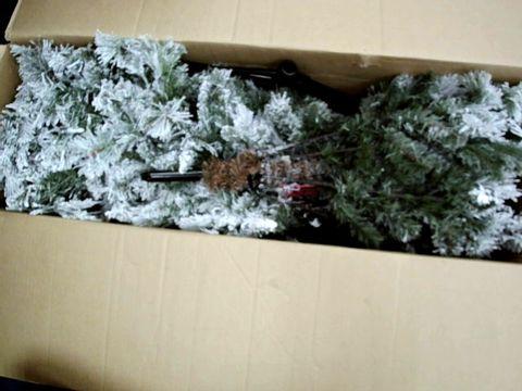 Lot 9004 FAKE SNOW CHRISTMAS TREE