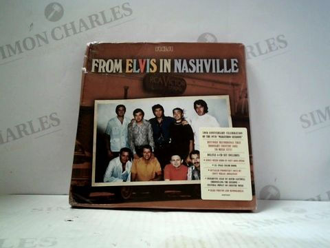 Lot 3269 FROM ELVIS IN NASHVILLE 4 CD BOX SET