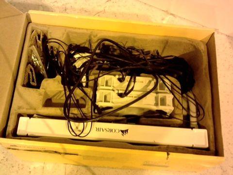 Lot 11649 CORSAIR HYDRO 100I RGB PLATINUM SE LIQUID CPU COOLER - WHITE