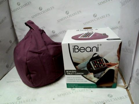 Lot 10320 IBEANI BEAN BAG TABLET CUSHION - PURPLE