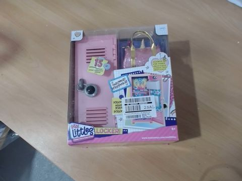 Lot 1013 REAL LITTLES LOCKER SET RRP £25.99