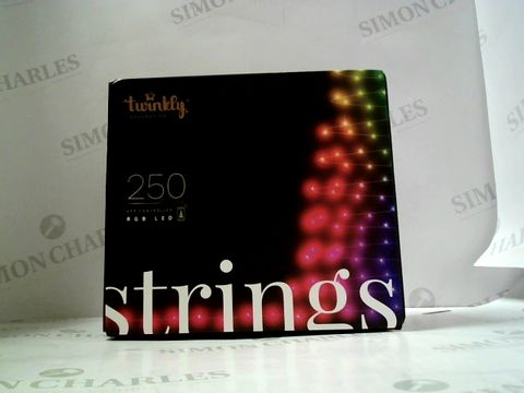 Lot 758 TWINLKY 20-METRE APP-CONTROLLED STRING CHRISTMAS LIGHTS RRP £125.00
