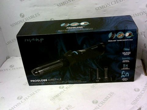 Lot 15419 BOXED BRAND NEW REVAMP PROGLOSS AIRSTYLE PROFESSIONAL 1200W AIR STYLER