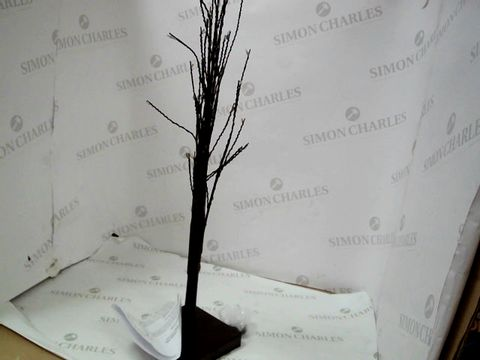 Lot 503 60CM TRIANGLE TREE WITH 80 WARM WHITE LEDS