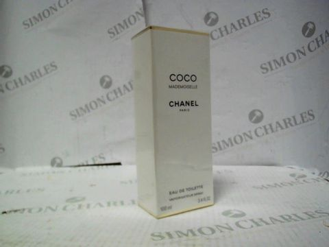 Lot 8076 BRAND NEW AND SEALED CHANEL COCO MADEMOISELLE EDT 100ML