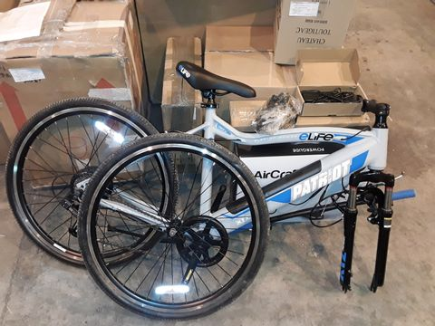 Lot 8324 ELIFE PATRIOT 6SP 36V 250W ELECTRIC BICYCLE