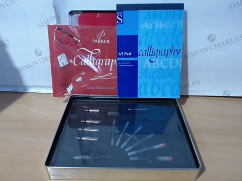 Lot 2014 PARKER CALIGRAPHY GIFT SET