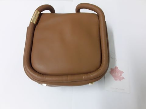 Lot 5 LOOKS LIKE SUMMER BROWN FAUX LEATHER HAND BAG