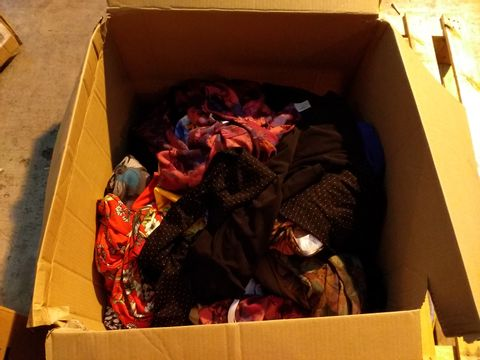 Lot 10716 BOX OF 49 ASSORTED ITEMS OF CLOTHING