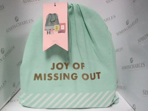 Lot 8148 KIKKI K - JOY OF MISSING OUT GIFT BAG
