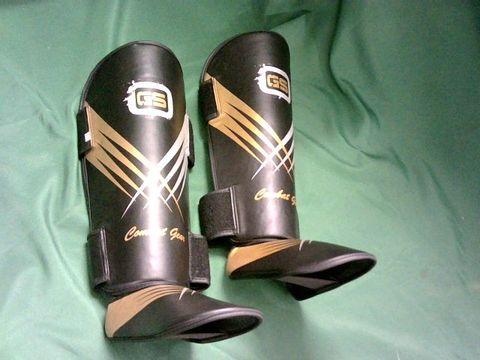 Lot 3092 GS COMBAT GEAR LEG GUARDS XL