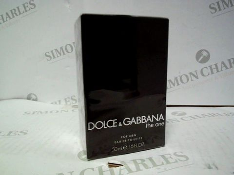 Lot 1233  DOLCE & GABBANA THE ONE EDT 50ML