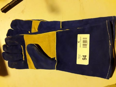 Lot 94 PAIR OF LEATHER WELDING GLOVES 10XL