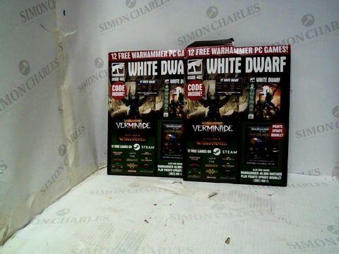 Lot 145 2 X WARHAMMER WHITE DWARF MAGAZINES ISSUE 462