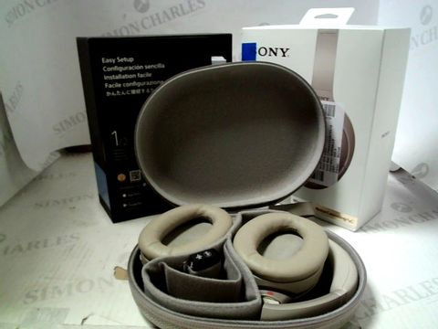 Lot 7273 SONY WH-1000XM4 NOISE CANCELLING WIRELESS HEADPHONES