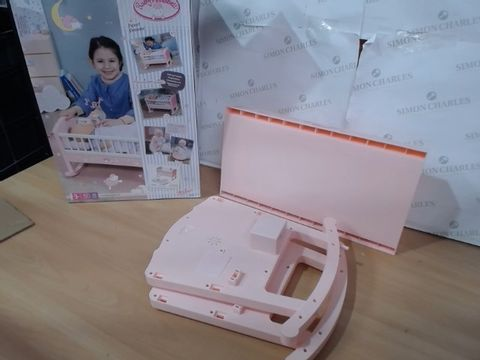 Lot 1174  BABY ANNABELL SWEET DREAMS BED RRP £40.00