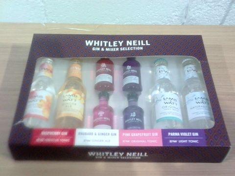 Lot 9 WHITLEY NEILL GIN & MIXER SELECTION