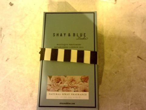 Lot 12136 SHAY & BLUE LONDON NATURAL SPRAY FRAGRANCE 30ML